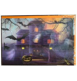 PAPYRUS® Halloween Cards Haunted House - Lenticular 3D