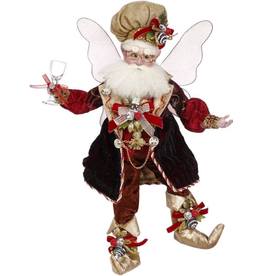 Mark Roberts Fairies Christmas Wine And Chocolate Fairy MD 16 inch
