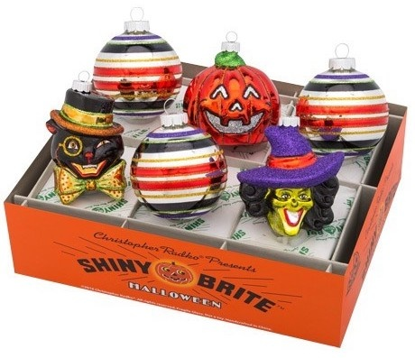 Christopher Radko Halloween Shiny Brite Ornaments at Digs N Gifts Halloween Store