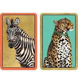 Caspari Playing Cards 2 Decks Of Wild Bridge Cards