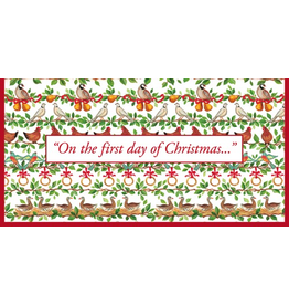 Caspari Christmas Money Card 12 Days Of Christmas