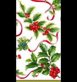 Caspari Christmas Paper Guest Towel Napkins 15pk Christmas Trimmings