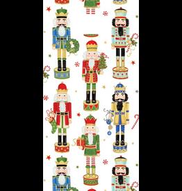 Caspari Christmas Favor Gift Bags 8pk Nutcracker Parade Favor Bags