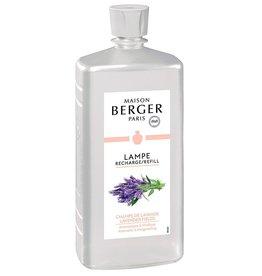 Lampe Berger Oil Liquid Fragrance Liter 1000ml Lavender Fields Maison Berger