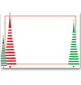 Caspari Name Tags Self Adhesive Labels 12pk Tree Between the Lines