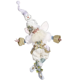 Mark Roberts Fairies Christmas Snowman Fairy MD 24 inch 51-97278