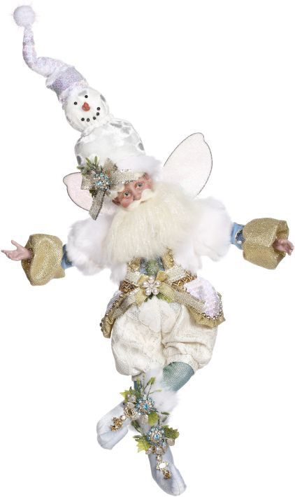 Mark Roberts Fairies Christmas Snowman Fairy MD 24 inch 51-97278