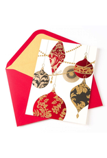 PAPYRUS® Boxed Christmas Cards Glittered Ornaments 12pk