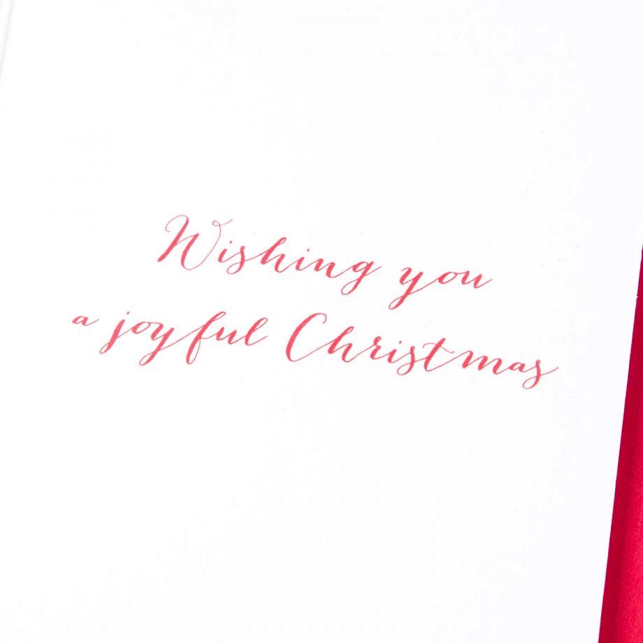 PAPYRUS® Boxed Christmas Cards Glitter Tree W Geometric Garland 20pk