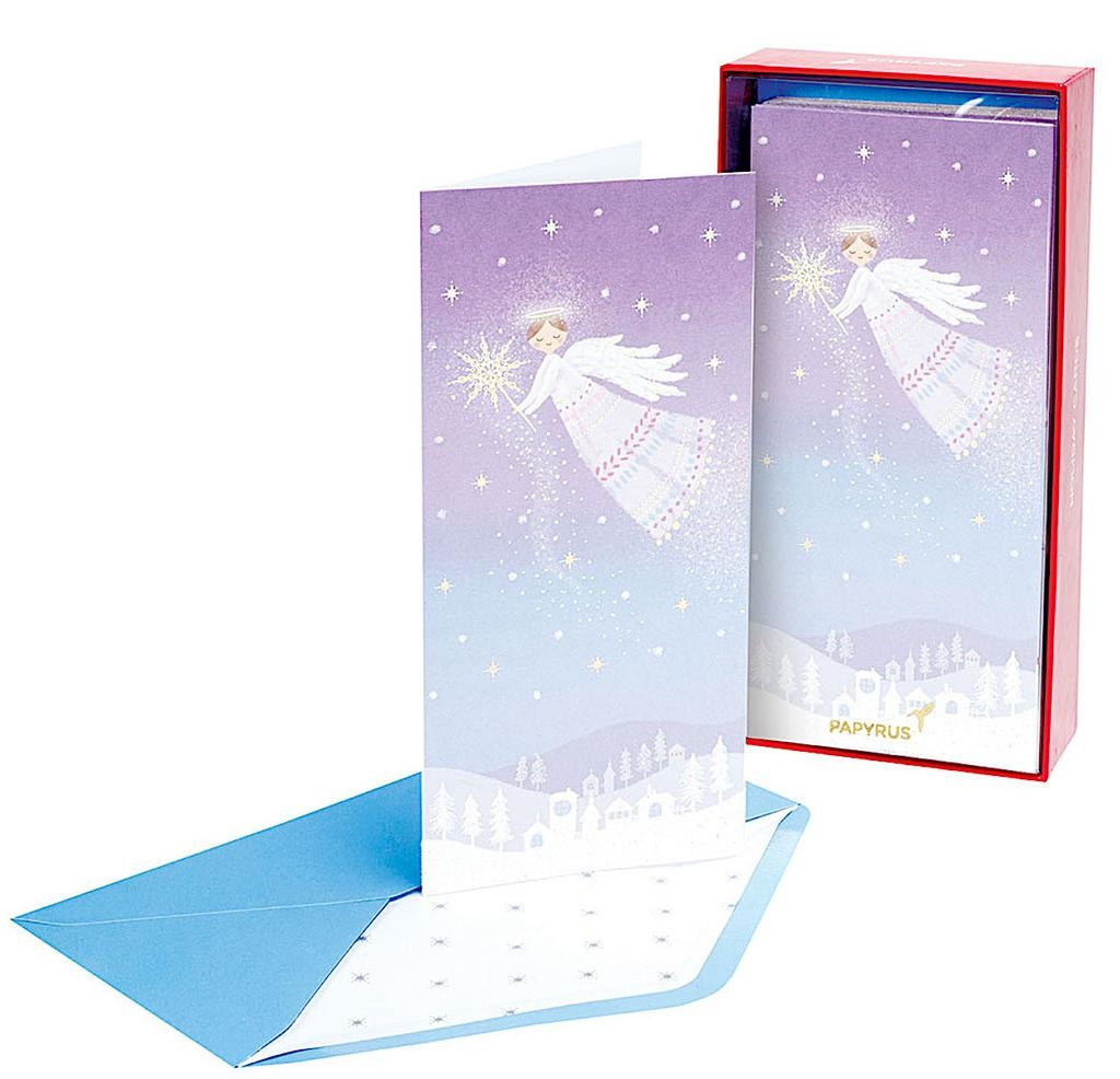 PAPYRUS® Boxed Christmas Cards 16ct  Christmas Angel