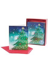 PAPYRUS® Boxed Christmas Cards 20 CT Magical Tree Top