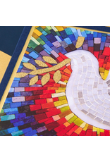 PAPYRUS® Jewish New Year Card Cards Colorful Mosaic Dove