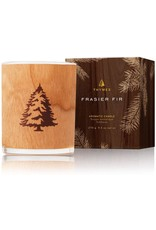 Thymes Frasier Fir Candle With Wood Wick 9.5oz