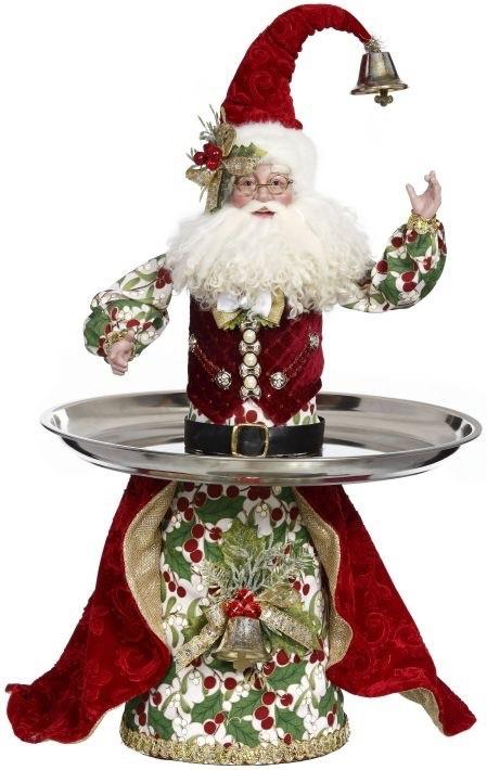 Christmas Designers At The Christmas Store Digs-N-Gifts Christmas Shop Fort Lauderdale Florida. Mark Roberts Santa