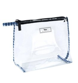 Scout Bags In The Clear Pouch See Through Water Resistant - Brooklyn Checkham