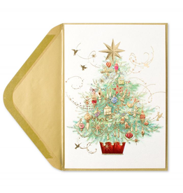 PAPYRUS® Christmas Card Embellished Tree