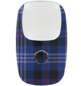 DM Merchandising Clarity OptiCard LED Pocket Illuminated Magnifier Plaid