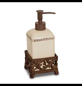 Ancanthus Single Soap Dispenser 8H Inches