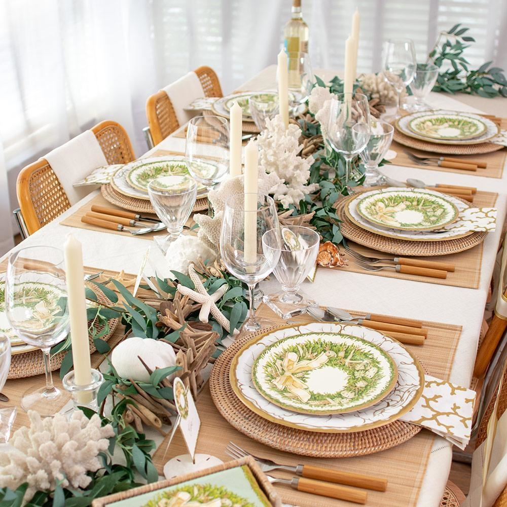 Christmas Entertaining Party Goods and Table Top Decor Dinner Napkins Holiday Party Cocktail Napkins at Digs N Gifts Stores Gift Shops