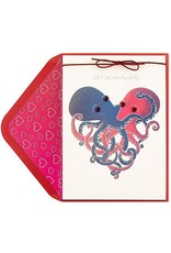 PAPYRUS® Valentine's Day Cards Octopi Love Touchy Feely