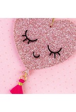 PAPYRUS® Valentine's Day Cards Acrylic Pink Heart Ornament W Tassel