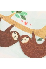 PAPYRUS® Valentine's Day Cards Sloths Couple Hanging From Branch