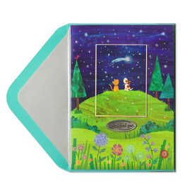 PAPYRUS® Pet Sympathy Card Hilltop With Dog And Cat