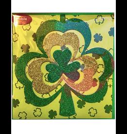 PAPYRUS® St Patricks Day Card Glittered Irish Shamrock Mobile