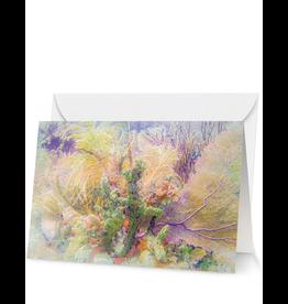 By The Seas-N Greetings Blank Note Card Florida Reef Spring Bouquet