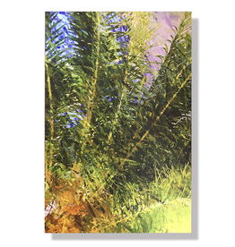 Charles W Gallery Wrapped Canvas Wall Art Print - Palm Abstract Right