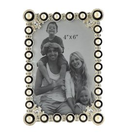 K&K Interiors Picture Photo Frames 4x6 Metal Picture Frame