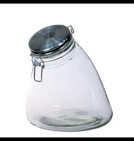 Global Amici Slope Hermetic Preserving Jar Medium 56oz 7CA627 Global Amici