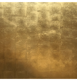 Caspari Placemats Set of 4 Gold Lacquer Hardboard Felt Backed Place Mat