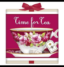 Mary Lake-Thompson Organic Teas 6pk-Wood Gift Box-Lavender Earl Grey