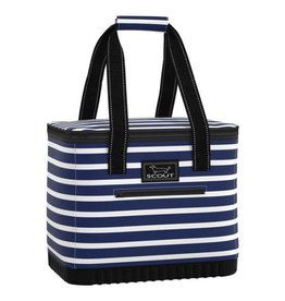 Scout Bags The Stiff One Large Soft Cooler Molded Bottom Nantucket Navy