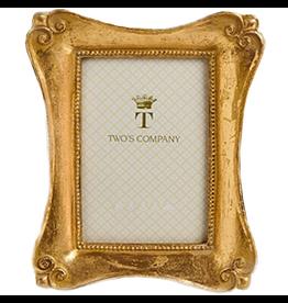 Twos Company Brocante Gold Leaf Frames Lg 5 x 7 in - B