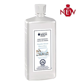 Lampe Berger Oil Liquid Fragrance Liter Aquatic Wood Maison Berger