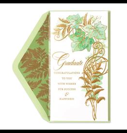 PAPYRUS® Graduation Card Money Enclosure Decorative Ivy
