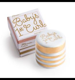 Rosanna™ New Baby Gifts Babys First Curl Ceramic Box | Rosanna