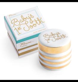 Rosanna™ New Baby Gifts Babys First Tooth Ceramic Box | Rosanna