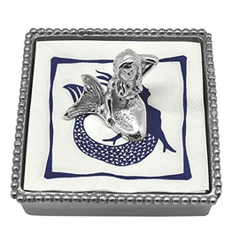 Mariposa Napkin Box Wieght Set 3441-C Mermaid Napkin Box