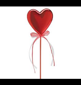 Burton and Burton Floral Picks Valentines Decor Red Heart Pick