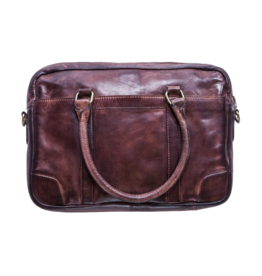 KIKO Leather Sleek Brief - Brown Washed Leather