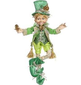 Mark Roberts Fairies Irish St Patricks Day Elves Pot Of Gold Elfin SM 11.5 Inch