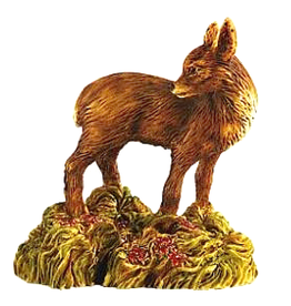 Isle Of Gramarye Forest Fawn Deer Figurine by Robert Glover