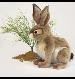 Hansa Toy Plush Bunny Rabbit Sitting 12 inch 3584