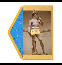 PAPYRUS® Birthday Card Statue of David