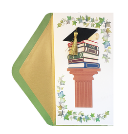 PAPYRUS® Graduation Card Books With Ivy Money Enclosure
