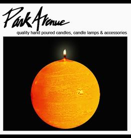Park Avenue Candles Textured Ball Sphere Candle Dijon 6Dia