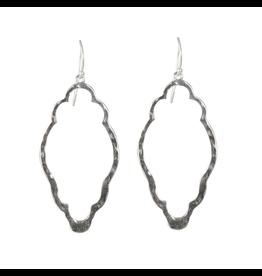 Waxing Poetic® Jewelry Open Up Earrings Clover Sterling Silver